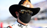 Johnson honors 'The King' and 'The Intimidator' with iconic look