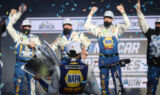 Chasing a championship: Elliott celebrates thrilling title win