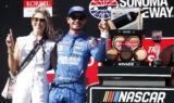 Back-to-back winner: Check out Larson's Sonoma celebration