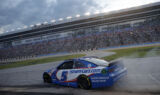 Look: Larson cashes in at All-Star Race