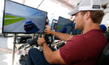 Johnson, Panthers' Olsen face off in Forza 6
