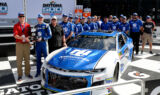 Inside No. 88 team's Daytona 500 pole celebration
