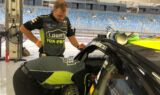 Teammates unload and prep No. 48 Chevy at Bahrain; #JJxALO stage set