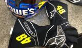 Johnson's throwback firesuit and helmet for Homestead