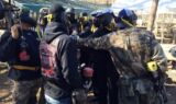 No. 24 team bonds through paintball