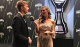 Drivers stun on red carpet at NASCAR Awards