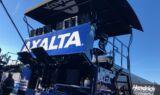 Fiery new No. 24 hauler gets prepped for Daytona