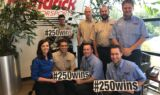Hendrick Motorsports teammates and fans celebrate 250th win on campus
