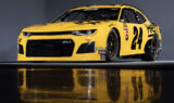 Byron showcases new Hertz ride and firesuit for 2019