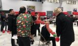 Race shops get in the holiday spirit