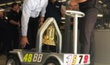 Hendrick joins Elliott to celebrate Watkins Glen win with Victory Bell