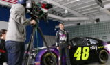 Inside Johnson's Ally photo shoot