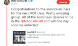 NASCAR world reacts to Gordon's Hall of Fame election