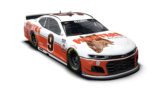 No. 9 Hooters scheme for Darlington throwback race unveiled