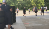 Over the wall: Photos from the pit crew minicamp