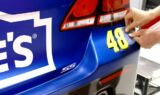 Behind the scenes of the 'Jeff Gordon yellow' number transformations