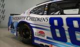 Bowman unveils Nationwide Children's Hospital paint scheme