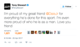 Reaction to Earnhardt's retirement pours in