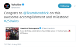 Sports world reacts to Elliott's first career Cup Series win