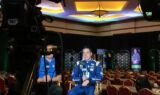 Teammates get ready for playoffs with media day in Las Vegas