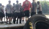 Pit crew hopefuls take on minicamp