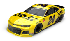 No. 24 Hertz Chevrolet