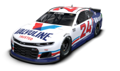 No. 24 Valvoline Throwback