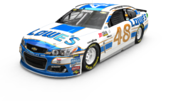 No. 48 Lowe's Chevrolet SS