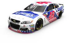 No. 48 Lowe's Patriotic Chevrolet SS