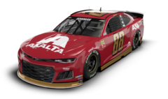No. 88 Axalta Throwback Chevrolet Camaro ZL1