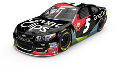 No. 5 Great Clips Chevrolet SS