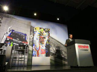 Inside Earnhardt's heartfelt press conference