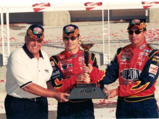 Hendrick History: Gordon wins first two races at Kansas