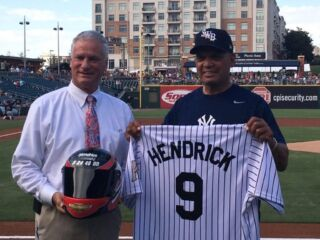 Hendrick Motorsports family night with the Charlotte Knights