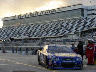 Length of Daytona 500 stages set