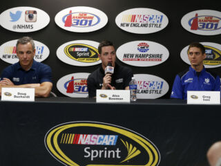 Bowman on filling in for Earnhardt: 'An honor to get the phone call'