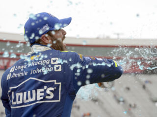 Johnson: 'This Lowe's Chevrolet was flying!'