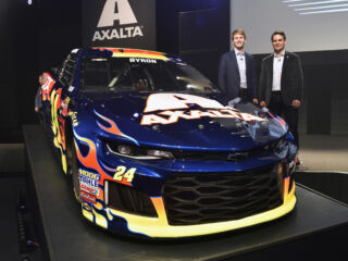 Byron, Gordon reflect on return of iconic flames to No. 24 Chevy