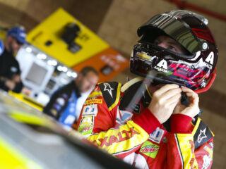 Shots of the Race: Earnhardt at Fontana