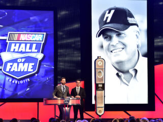 Inside the NASCAR Hall of Fame induction ceremony