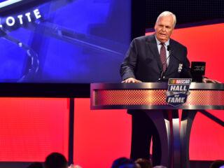 Watch Hendrick's heartfelt Hall of Fame speech