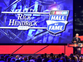 Hall honor allows Hendrick to reflect
