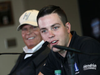 Alex Bowman's busy weekend at Indy