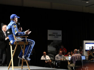 Kahne, Earnhardt take on Media Tour