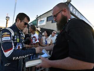 Shots of the Race: Kahne at Phoenix