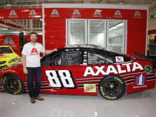 Earnhardt's special Axalta paint scheme to hit the track at Homestead