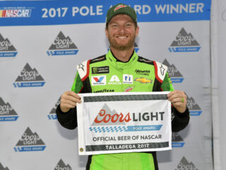 Inside Earnhardt's Talladega Pole celebration