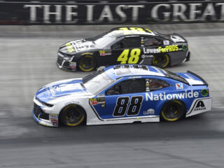 Johnson, Bowman earn top-five finishes at Bristol
