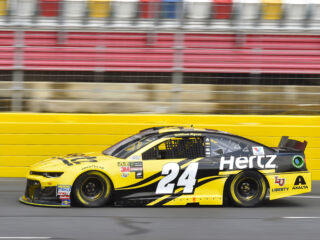 Win a VIP race experience with Byron and No. 24 team thanks to Hertz
