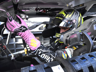 Johnson on racing for the win at Charlotte: 'It bit me'